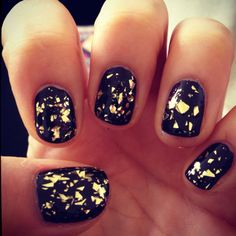 I would love this with black nail polish & silver