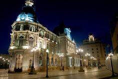 Palacio Consistorial. Vista Nocturna - Cartagena - España