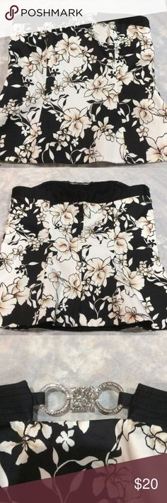 White house black market bustier top WHBM bustier top. Excellent condition White House Black Market Tops