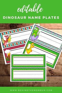 Dinosaur Classroom, Preschool Classroom Decor, Preschool Christmas, Dinosaurs Preschool, Free Preschool, Fun Printables For Kids, Free Printables, Kindergarten Worksheets, Preschool Activities