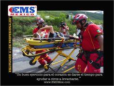 """#MotivatEMS """"Un buen ejercicio para el corazón es darse el tiempo para ayudar a otros a levantarse"""" Buena Guardia! Ánimo ☺  #SoyEMS"""