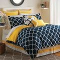 Intelligent Design Peyton Navy 5-piece Comforter Set - Free Shipping Today - Overstock.com - 19325805 - Mobile