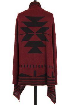 Aztec Flyaway Cardigan $44