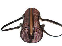 Vintage Ralph Lauren Plaid Handbag Purse by PurseGuru on Etsy, $24.99