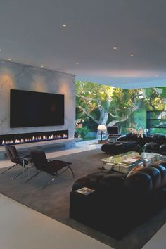 Fascinating 22 Beegcom Best Furniture For Home, Best Interior Design Schools Ranking Canada Home Theater Rooms, Home Theater Design, House Entrance, Fireplace Design, Tv Fireplace, Modern Fireplace, Fireplaces, Best Interior Design, Interior Photo