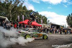 Drift and motocross stunt