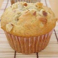 How to Make Banana Nut Muffins,English - Urdu Recipe Eggless Banana Muffins, Eggless Recipes, Eggless Baking, Banana Recipes, Vegan Recipes, Egg Free Recipes, Bread Recipes, Cake Recipes, Healthy Muffins