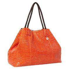 Perfect bag for football season and tailgaiting! Of course, It's OSU orange & black (Go Pokes!)..but it's also big enough for a long day out. Take along a full make-up bag for touch-ups, a package of wet-wipes, and a sweater/scarf/gloves for you AND the little one(s) for chilly night games. Plus sunglasses, a water, even a few diapers and baby essentials if your family is still at that stage. Even toss in a pom-pom or two, lol!    Amazon.com: Big Buddha Sicily Tote Handbag (Brown): Clothing