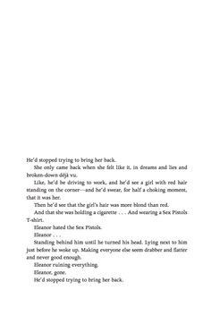 Eleanor and Park by Rainbow Rowell. I cried reading this. Should i stop bringing you back too?
