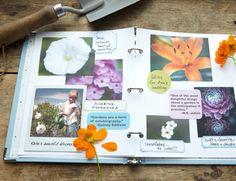 Make a home garden journal