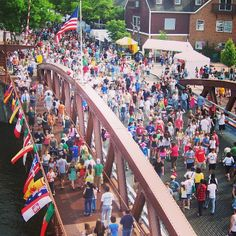Fairport Canal Days, a celebration of life on the Erie Canal. Picture shared by @I LOVE NY on Instagram.
