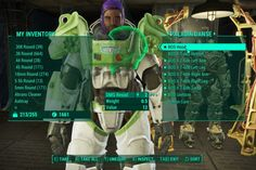 Buzz Lightyear Paladin Danse at Fallout 4 Nexus - I'm dying; I'm so glad someone made this! We were thinking it the whole time.