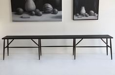 """Sawkille Co. Oxidized Cherry Bench 119"""" : MARCH"""