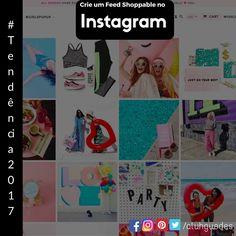 """Instagram feeds está se tornando a nova loja, e uma importante tendência de marketing Instagram em 2017 serão varejistas on-line usando UGC (user-generated content) no Instagram para ajudar a impulsionar as vendas em seu site. Nada mais será do que páginas na galeria do Instagram com seus produtos ou repostagem conteúdo de clientes com seus produtos na """"vida real"""".  https://www.facebook.com/ALuhGuedes/photos/a.410479222404136.1073741828.410264925758899/1167229633395754/?type=3&theater"""