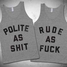 See more CRAZY, FUNNY matching BFF tees, from Skreened hahah @emilyastacey