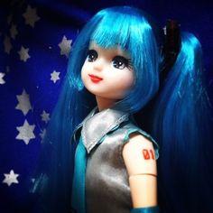 やっとミクさんの腕にナンバー入れたから記念UP(・∀・) #Girlish #Culture #japan #dollphotography #doll #instadoll  #dolly #リカちゃん #licca #takara #liccachan #licca_chan #liccadoll #人形 #azone #Pureneemo #Flection #miku #mikudoll #hatsunemiku #初音ミク
