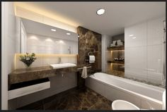 Granite #Bathroom Ideas