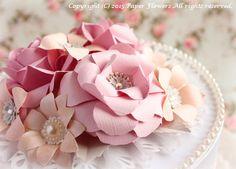 前田京子,ペーパーフラワー,紙の花,paper flower