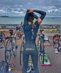 Triathlon ready! Great pic!