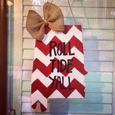Alabama Door Hanger by FortSturgeon on Etsy & Alabama state door hangers | ... .etsy.com/listing/161143555 ... pezcame.com