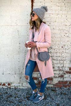 awesome Модные серые женские кроссовки Найк (50 фото) — С чем правильно носить?