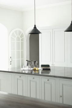from Modern Country Style blog: Kitchen of Serenity