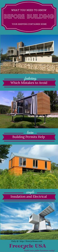 Whay you need to know before building your Shipping Container Home. Get all the answers here!
