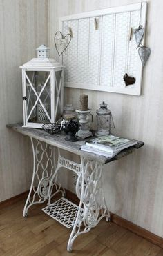 driftwood singer sewing machine