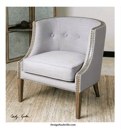 Deals of the Day! Wyndham Grey Accent Chair