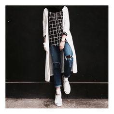 25 Ideas For Fashion Outfits Hijab Casual Hijab Casual, Hijab Chic, Ootd Hijab, Hijab Fashion Casual, Girl Hijab, Muslim Fashion, Modest Fashion, Trendy Fashion, Spring Fashion