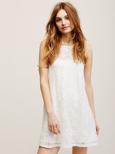 Lace Mini Dress from Free People!