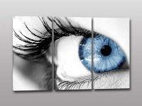 quadri moderni occhio donna