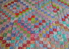 Amongst my daily mooching of blogland and of course, Pinterest, I couldn't help but notice an awful lot of images of a pretty fabulous quilt...