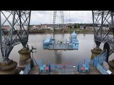 Schwebefähre in Newport | Die Weltenbummler