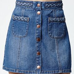 18e0d9a7db Kendall & Kylie Skirts - Kendall&Kylie Denim Skirt Denim Skirts, Dark Denim,  Kendall,