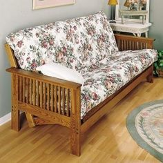 Use The Plan To Build Your Own Futon Couch And Bed Daybed Bunk Rockler Woodworking Hardware