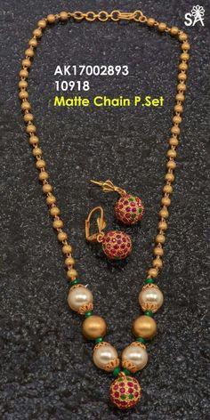 Gold Temple Jewellery, India Jewelry, Kids Jewelry, Trendy Jewelry, Simple Jewelry, Wedding Earrings Studs, Jewelry Tattoo, Imitation Jewelry, Latest Jewellery