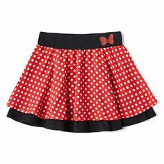 Disney Minnie Mouse Polka Dot Skirt - Girls 6-16 - jcpenney