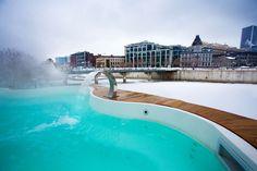 Spa sur l'eau, centro benessere galleggiante