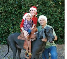 @kathryn smith. You have to do this!!!!!!To own a dog big enough that it can be saddled and ridden.
