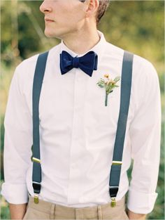 burlap boutonniere and bowties - Google Search