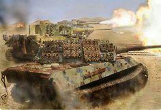 the reverse art of tank warfare Military Art, Military History, Tank Warfare, Tiger Ii, War Thunder, Tiger Tank, Tank Destroyer, Armored Fighting Vehicle, Ww2 Tanks