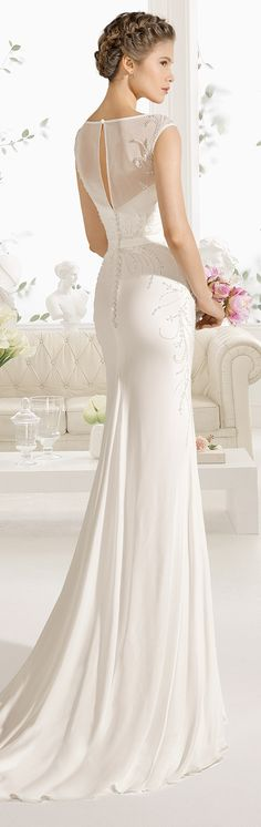 Wedding Dresses By Aire Barcelona 2017 Bridal Collection   Part 2