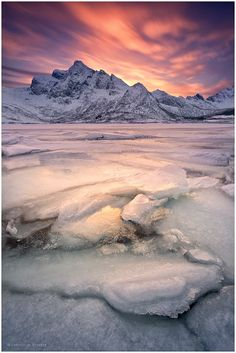 Fire And Ice | Lofoten | Northern Norway