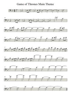 Game of Thrones Theme (Cello) by averoxot.deviantart.com on @deviantART