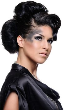 Avant Garde Makeup & Hair By Van Tran @ vanitysd.com #fashion #makeup #hair