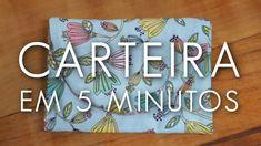 Dica de Sexta: Como Fazer uma Carteira em 5 Minutos (Tutorial Patchwork)