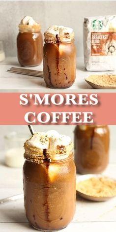 Coffee Drink Recipes, Dessert Recipes, Sweet Iced Coffee Recipe, Keurig Recipes, Blended Coffee Drinks, Blended Coffee Recipes, Autumn Coffee, Protein Shake Recipes, Yummy Drinks