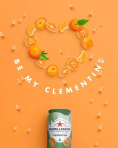 banking advertising Declare your love with a sparkling clementine this Valentines Day Ads Creative, Creative Video, Creative Posters, Creative Advertising, Advertising Design, Advertising Ideas, Video Advertising, Food Graphic Design, Food Poster Design