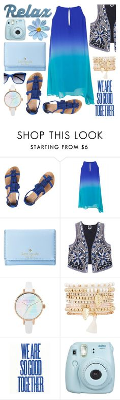 """blue blue"" by soyance ❤ liked on Polyvore featuring Dorothy Perkins, Kate Spade, Charlotte Russe, Ralph Lauren, Summer and Blue"